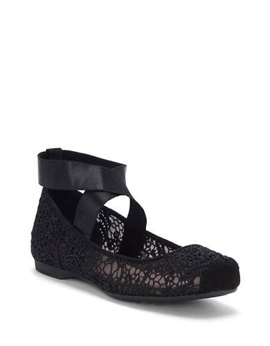 Jessica Simpson Magda Ballet Flats-BLACK-9.5