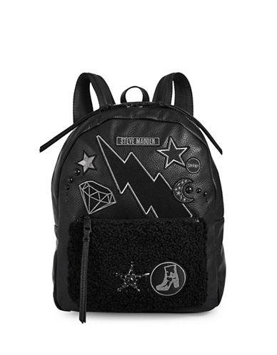 Steve Madden Steffi Backpack-BLACK-One Size