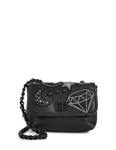 Steve Madden Hayley Chain Crossbody Bag-BLACK-One Size