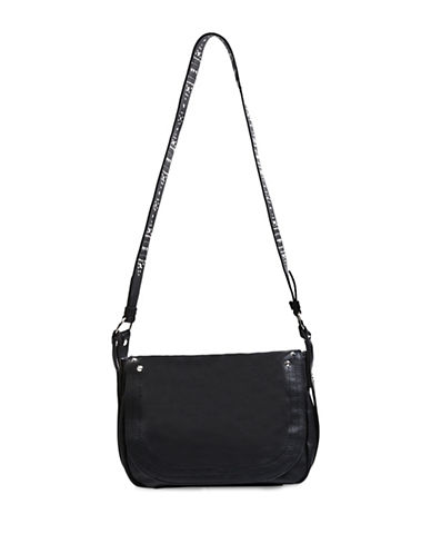 Steve Madden Frida Studded Shoulder Bag-BLACK-One Size