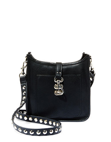 Steve Madden Bwylie Studded Strap Crossbody Bag-BLACK-One Size