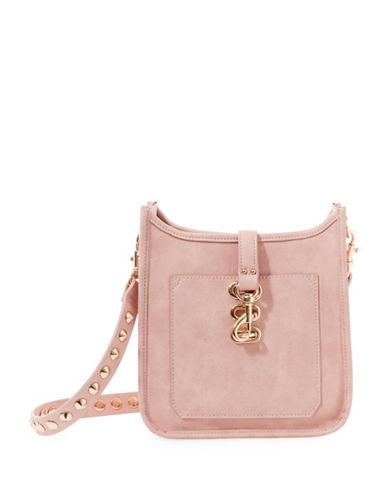 Steve Madden Bwylie Studded Strap Crossbody Bag-PINK-One Size