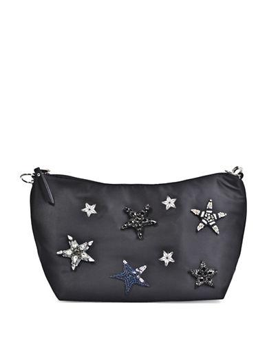 Steve Madden Star Shoulder Bag-BLACK-One Size