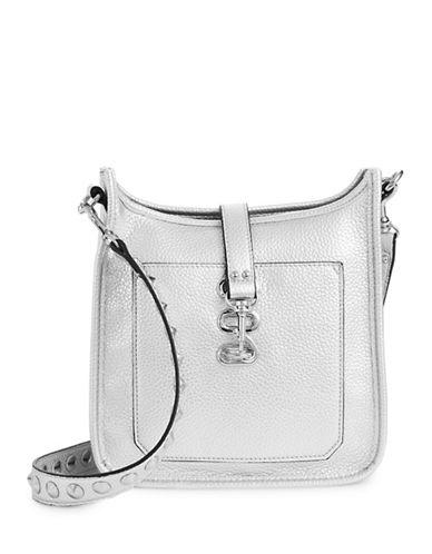 Steve Madden Wylie Mini Messenger Bag-SILVER-One Size