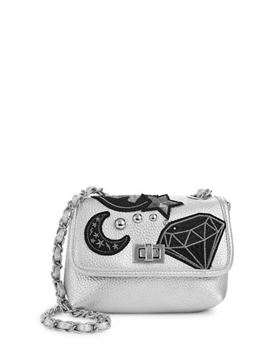 Steve Madden Hayley Chain Crossbody Bag-SILVER-One Size