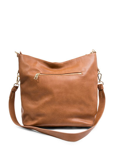 Steve Madden Fran Hobo Bag-BROWN-One Size