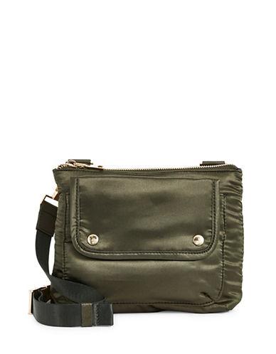 Steve Madden Viola Crossbody Bag-GREEN-One Size