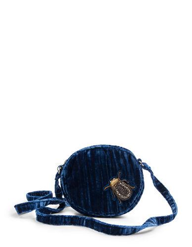 Steve Madden Lotus Mini Bag-BLUE-One Size