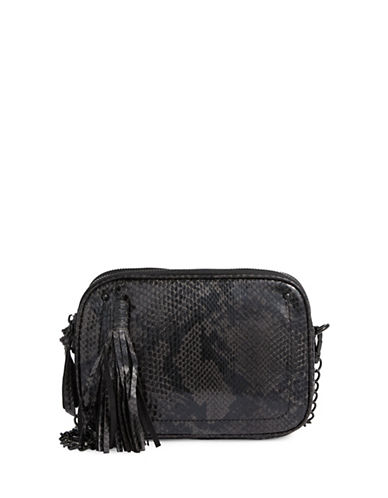 Steve Madden Kaylee Tasseled Crossbody Bag-SNAKE PRINT-One Size