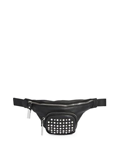 Steve Madden Studded Belt Bag-BLACK-M/L