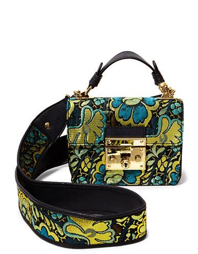 Steve Madden Lara Floral Mini Top Handle Bag-ASSORTED-One Size