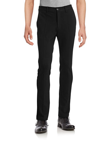 Wrk Prospect Knit Pintuck Pants-BLACK-34