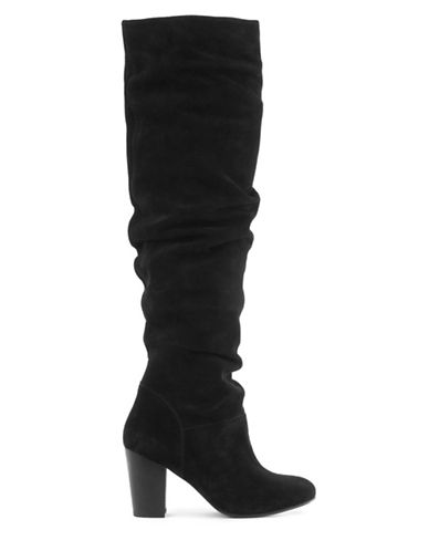 Seychelles Suede Over-the-Knee Boots-BLACK-7.5