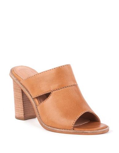 Seychelles Sinfully Leather Slip-On Heels-TAN-9