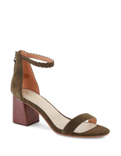 Seychelles Chunky Heel Fury Sandals-OLIVE-8.5