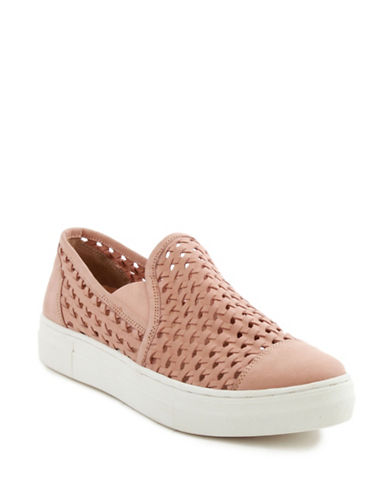 Seychelles Latest Leather Sneakers-NUDE-8.5