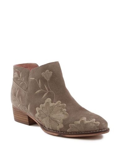 Seychelles Lantern Leather Booties-TAUPE-6.5