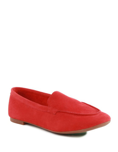 Seychelles Exploring Leather Loafers-RED-6.5
