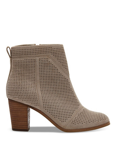 Toms Lunata Perforated Booties-BEIGE-9