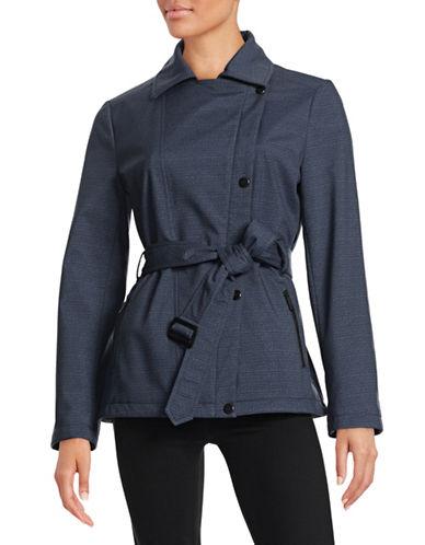 Kenneth Cole New York Belted Softshell Jacket-BLUE-Large 88061489_BLUE_Large
