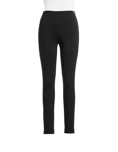 Ivanka Trump Slimming Leggings-BLACK-Medium 87757711_BLACK_Medium