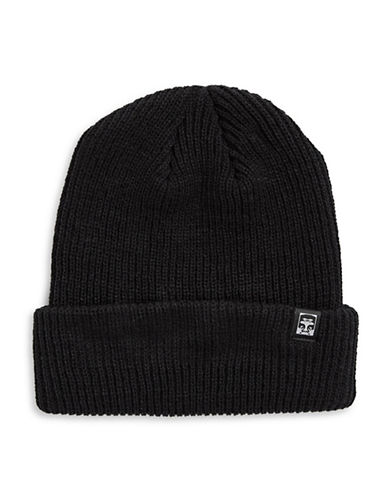 Obey Ruger 89 Beanie-BLACK-One Size