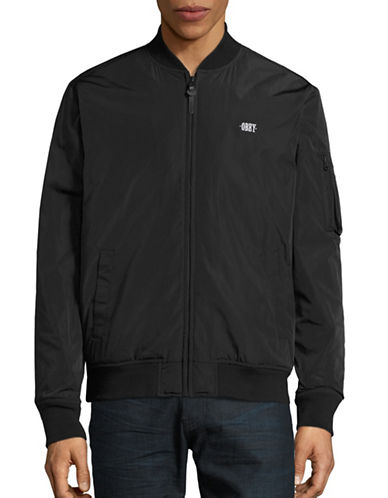 Obey Alden Bomber Jacket-BLACK-Small 88588732_BLACK_Small