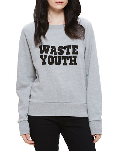 Obey Waste Youth Sweatshirt-GREY-Medium 88796368_GREY_Medium