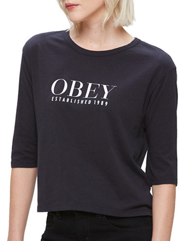 Obey Vanity Baseball Top-BLACK-Large 88796434_BLACK_Large
