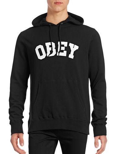 Obey Watson Logo Hoodie-BLACK-Medium 88842235_BLACK_Medium