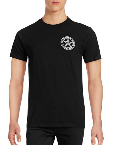 Obey Paste Star T-Shirt-BLACK-Small 88842273_BLACK_Small