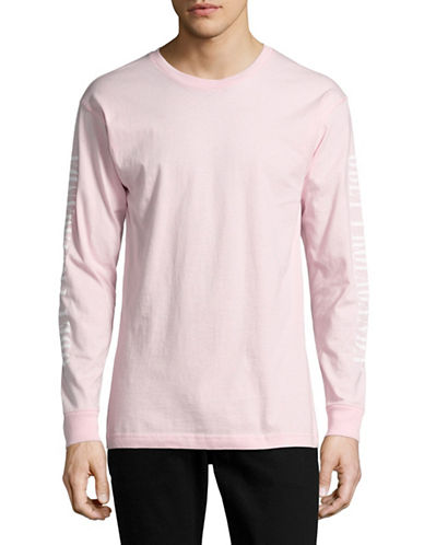 Obey New Times Propaganda Tee-PINK-Small 88984586_PINK_Small