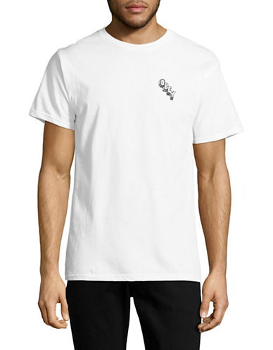Obey Marker Block T-shirt-WHITE-X-Large 88984605_WHITE_X-Large