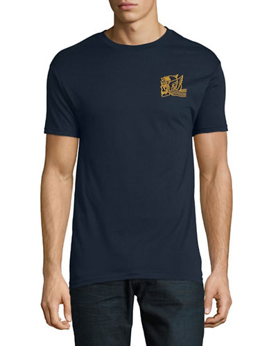 Obey Midnight Angels T-Shirt-NAVY-X-Large