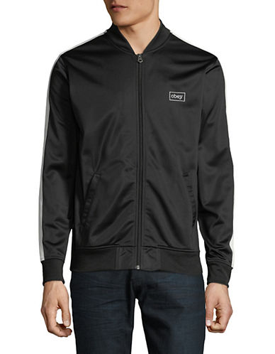 Obey Borstal Tracker Jacket-BLACK-Medium 89939750_BLACK_Medium