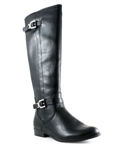 Unisa Tika Tall Boots-BLACK-8.5