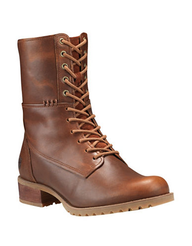 Timberland Banfield Leather Boots-BROWN-5.5