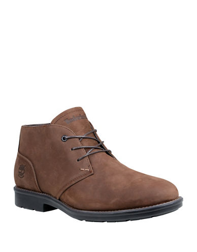 Timberland Carter Notch Leather Chukka Boots-BROWN-9.5