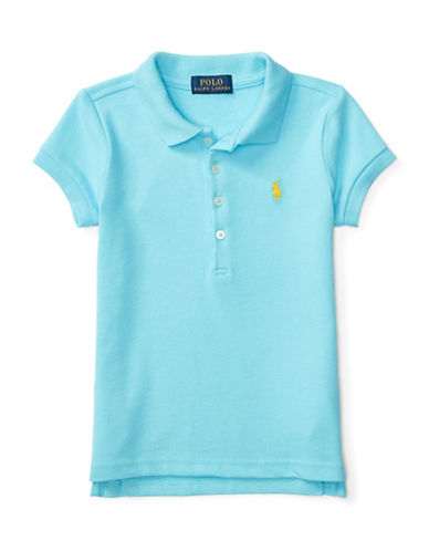 Ralph Lauren Childrenswear Stretch Cotton Polo Shirt-BLUE-3