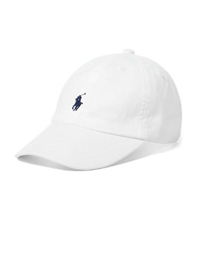 Ralph Lauren Childrenswear Boys Cotton Chino Baseball Cap-WHITE-2-6