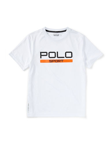 Polo Sport Performance Jersey T-Shirt-WHITE-Small 88159484_WHITE_Small