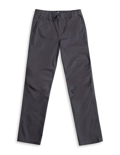 Chaps Poplin Carpenter Pants-GREY-Medium 88516405_GREY_Medium