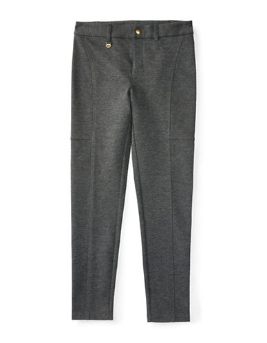 Ralph Lauren Childrenswear Slim Fit Stretch Pants-GREY-Large 88402723_GREY_Large