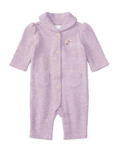 Ralph Lauren Childrenswear French Rib Coverall-PURPLE-9 Months 88429993_PURPLE_9 Months
