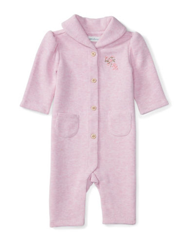 Ralph Lauren Childrenswear French Rib Coverall-PINK-9 Months 88429996_PINK_9 Months