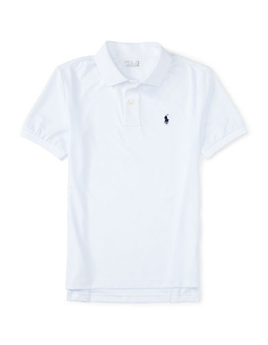 Polo Sport Stretch Jersey Short Sleeve Polo Shirt-PURE WHITE-Large 88459685_PURE WHITE_Large
