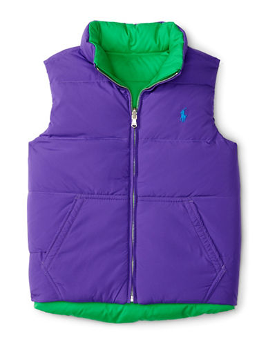Ralph Lauren Childrenswear Waterproof Insulated Vest-PURPLE-Medium 88402562_PURPLE_Medium