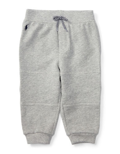 Ralph Lauren Childrenswear French Terry Jogger Pants-GREY-12 Months 88428505_GREY_12 Months