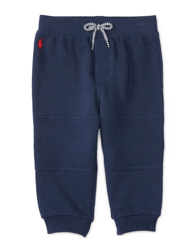 Ralph Lauren Childrenswear French Terry Jogger Pants-NAVY-18 Months 88428510_NAVY_18 Months