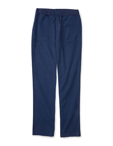 Ralph Lauren Childrenswear Ripstop Jogger Pants-BLUE-Large 88514664_BLUE_Large